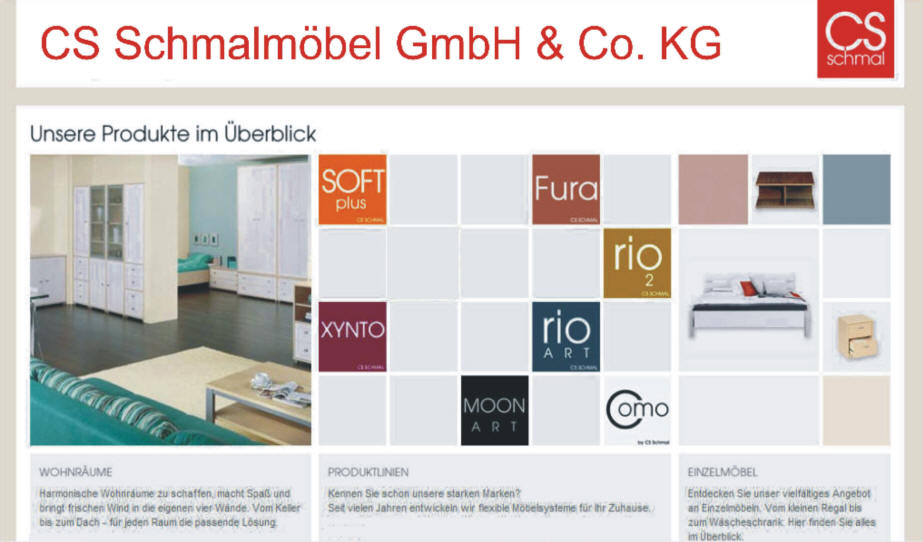 cs schmalm bel gmbh co kg. Black Bedroom Furniture Sets. Home Design Ideas
